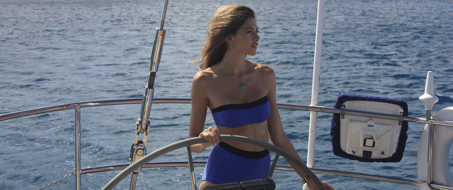Honeymoon on a private yacht