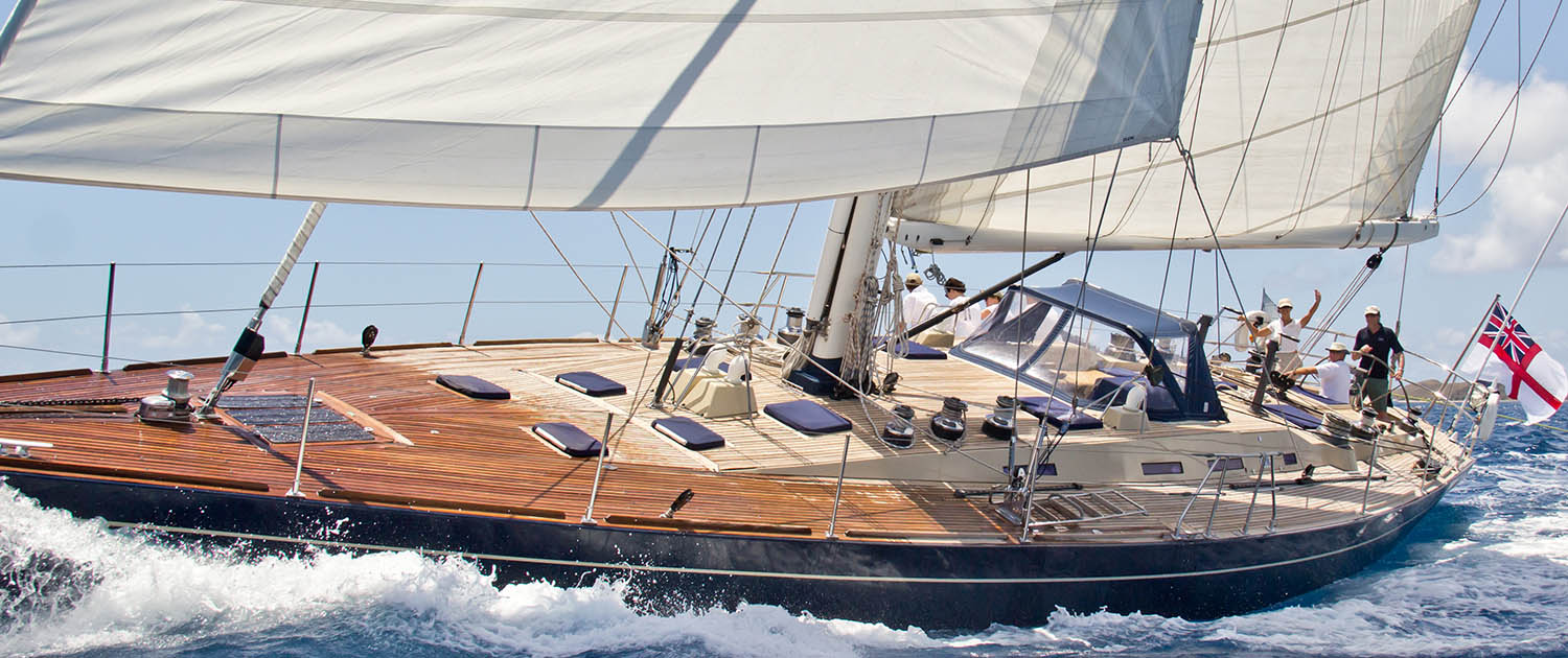 Monohull yacht Pacific Wave