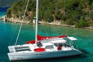 Reaction Catamaran British Virgin Islands Yacht Charter