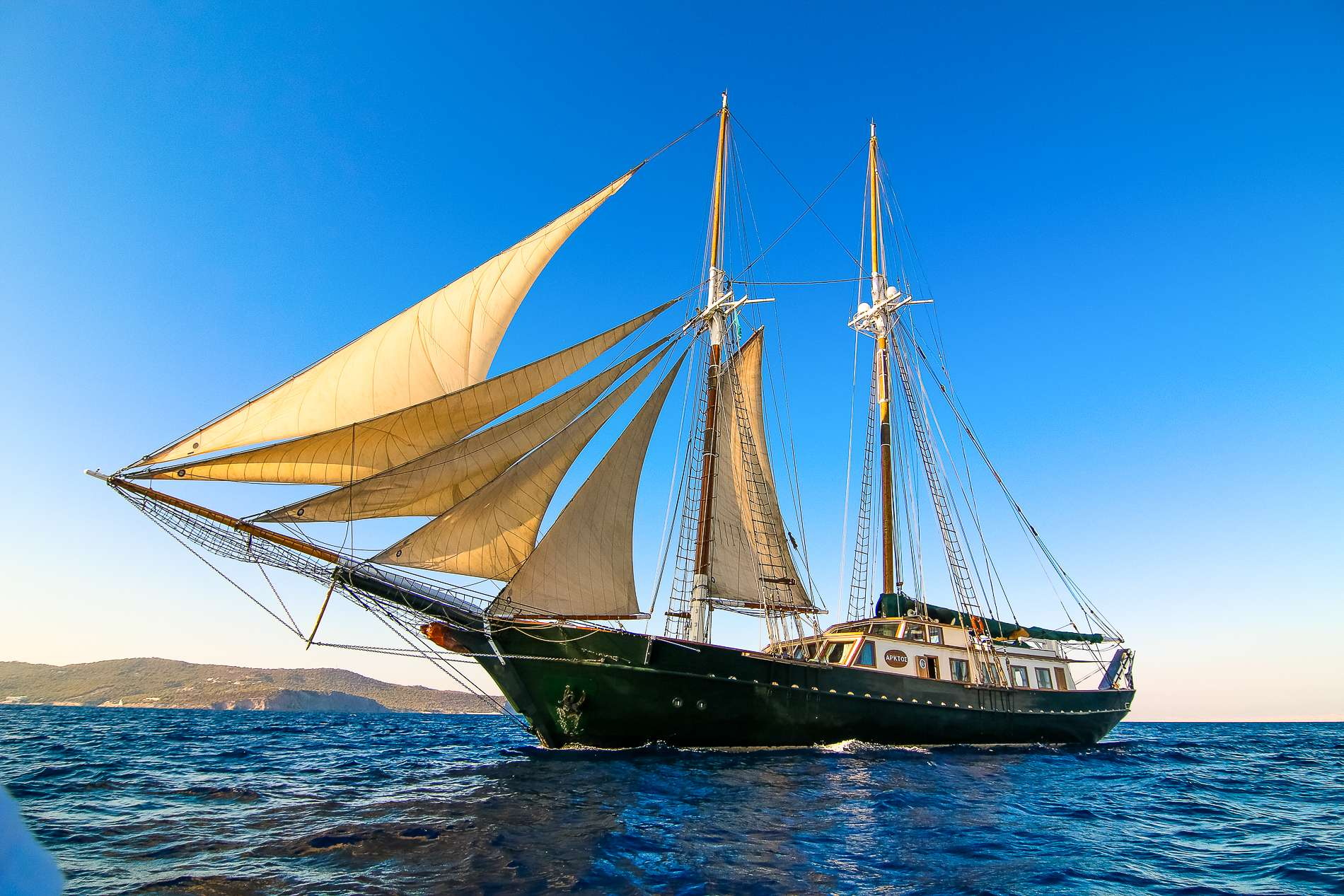 SY Arktos Gulet Yacht Charter