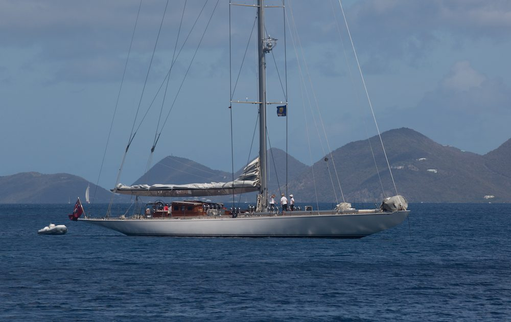 J Class Endeavour on a Classic Yacht Charter