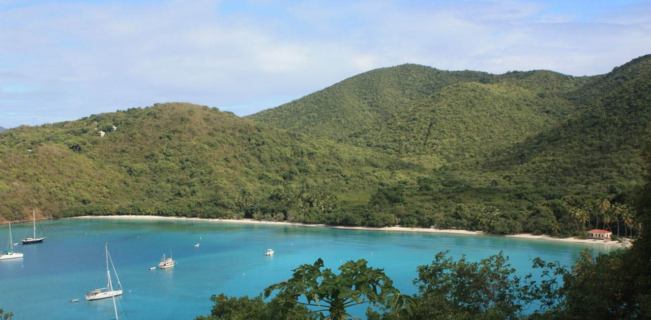 Maho Bay St John USVI top 100 beaches in the World