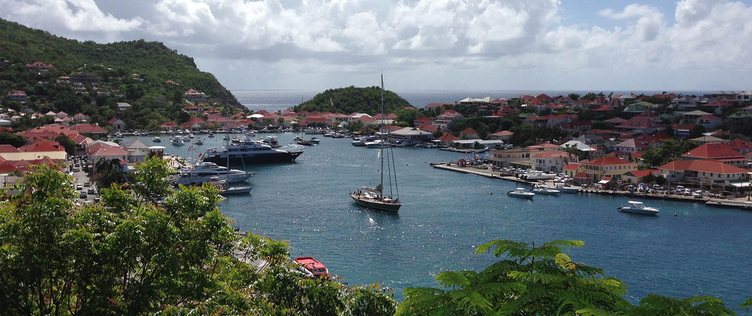 Gustavia Harbour St Barths Leeward Islands