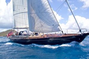 Monohull yacht Pacific Wave