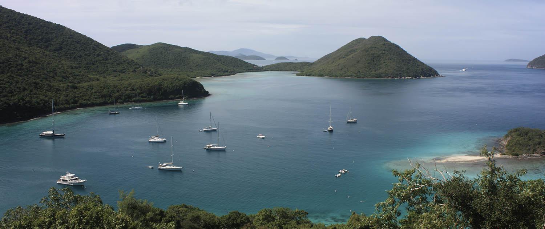 View from St John USVI