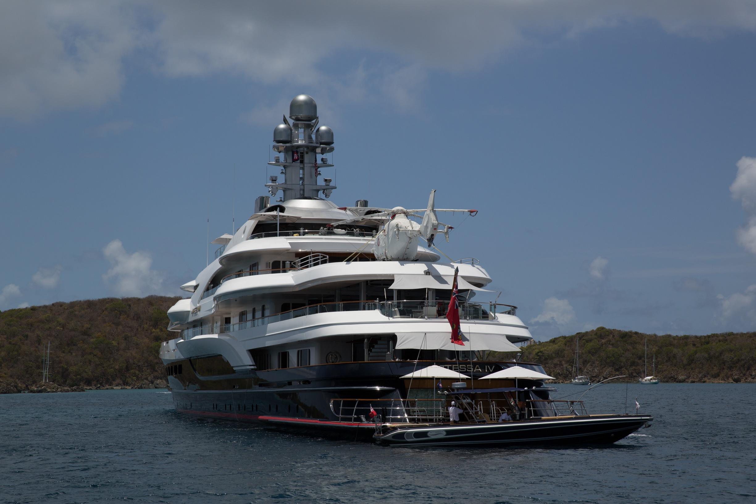 Superyacht Attessa Iv