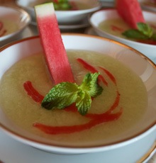 Chilled soup great in the tropics