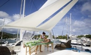 Massage aboard your charter yacht