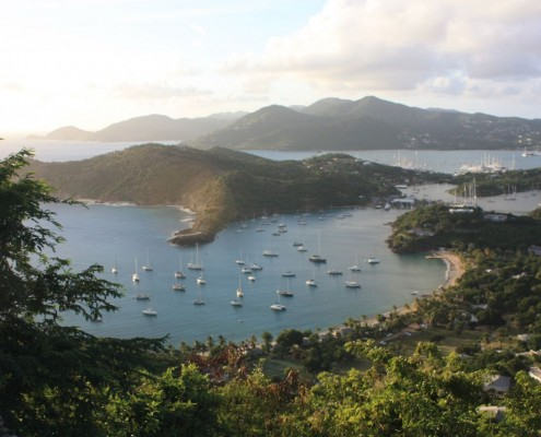 Views from Shirley Heights Lookout English Harbour & Falmouth Harbour Antigua