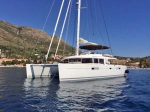 Amazing Lady brand new Lagoon 560 S2 Catamaran