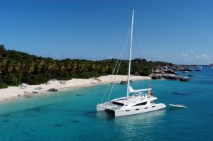 Zingara Catamaran Crewed Yacht Charter The Baths BVI