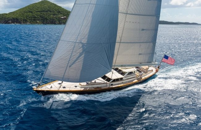 SY Marae available for charter Americas Cup Bermuda 2017
