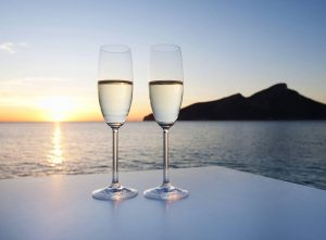 A Champagne Celebration aboard your Yacht Charter will be at additional cost