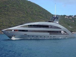 Motor Yacht Ocean Emerald in the BVI Once Seen Never Forgotten