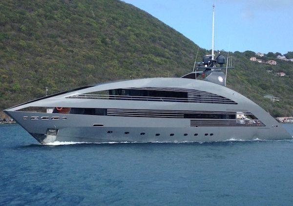Motor Yacht Ocean Emerald in the BVI Once Seen Never Forgotten