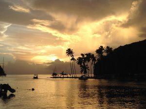 Marigot Bay St Lucia Caribbean Sunset