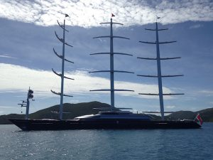 Superyacht Maltese Falcon available for Luxury Yacht Charter