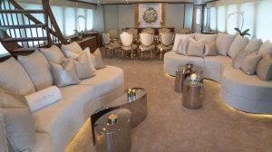 MY Grand Illusion interior styling by Demitri Christian Design