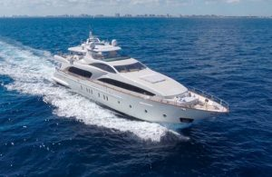 MY Happy Hour 116ft Azimut available for Bahamas Yacht Charter