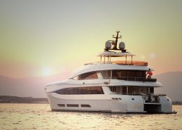 Power Catamaran Quaranta 34m available for charter in the South of France