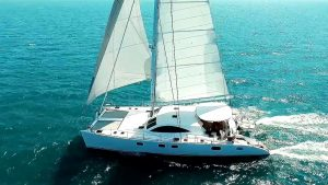 Catamaran Laysan available for Caribbean Crewed Yacht Charters