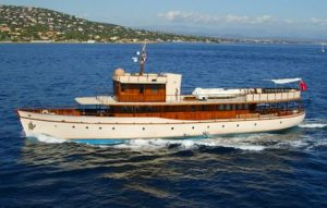 Over The Rainbow Classic Motor Yacht Charter