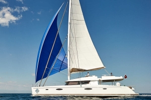 Catamaran Lir available for BVI Crewed Yacht Charters