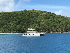 Jan's Felion Power Catamaran Yacht Charter