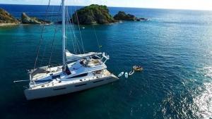 Xenia 74 Catamaran Yacht Charters
