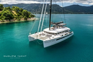 Duolife the new Catamaran Lagoon 620 available for charter in the Caribbean