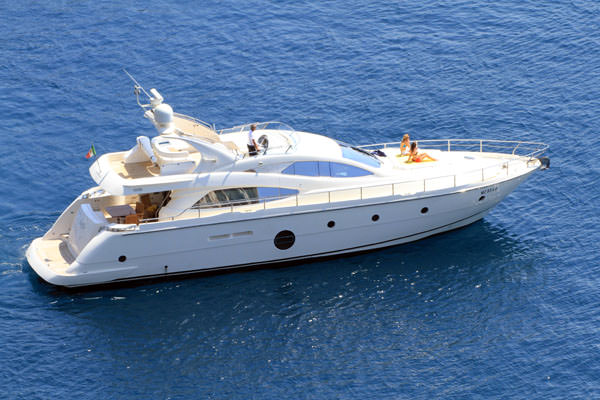 Motor Yacht Gaffe available for Luxury Yacht Charters in Sicily