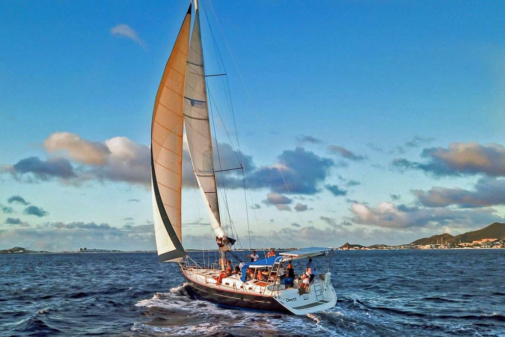Sailing Yacht Oryxx available for Caribbean Yacht Charters from Sint Maarten Antigua and the BVI